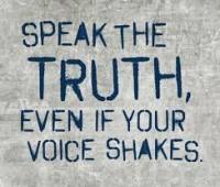 Κοιτώντας την Αλήθεια κατάματα